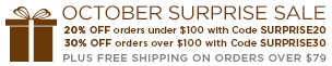 Free Shipping on orders over $79.00